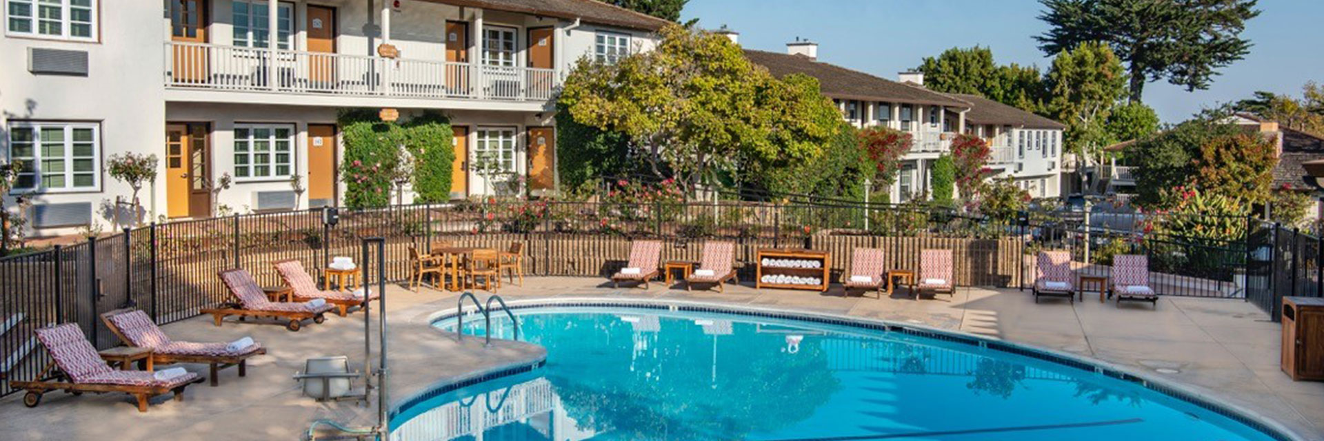 Heated Outdoor Pool at Hotel California
